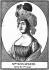 Joséphine de Beauharnais (1763-1814), impératrice des Français, épouse de Napoléon Bonaparte, premier Consul. Gravure (1800). Paris, Bibliothèque Nationale de France. © Roger-Viollet