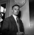 Julien Gracq (1910-2007), universitaire et écrivain français, lors du Prix Goncourt, qu'il refusa. 1951. © LAPI/Roger-Viollet