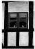 Fenêtre. Aarhus (Danemark), 1970. © Jean Mounicq/Roger-Viollet