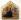 """Benedetto Bonfigli (1420-1496). """"Gabriel"""". Détail de l'Annonciation. Pérouse (Italie), galerie nationale de l'Ombrie. © Roger-Viollet"""
