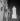 Exposition internationale de 1937, Paris. Le bas-relief du pavillon de l'U.R.S.S. (au premier plan) et le pavillon de l'Allemagne, au fond. © Gaston Paris / Roger-Viollet