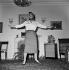 Melina Mercouri (1920-1994), actrice et femme politique grecque. 6 avril 1957. © Alain Adler / Roger-Viollet