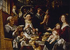 """Jacob Jordaens (1593-1678). """"Les Jeunes piaillent comme chantent les vieux"""". Huile sur toile, 1638-1640. Valenciennes, musée des Beaux-Arts. © Roger-Viollet"""