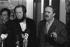 Alexandre Soljenitsyne (1908-2008), écrivain russe, et Heinrich Böll (1917-1985), écrivain allemand, février 1972. © Sven Simon / Ullstein Bild / Roger-Viollet