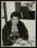 Ella Fitzgerald (1917-1996), chanteuse de jazz américaine, après un concert au Colston Hall. Bristol (Angleterre), 24 février 1955. Photo : Denis Williams. © TopFoto/Roger-Viollet