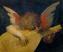 """Rosso Fiorentino (1494-1550). """"Ange jouant de la musique"""", XVIème siècle. Florence (Italie), galerie des Offices. © Alinari/Roger-Viollet"""