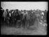 """Guerre d'Espagne (1936-1939). """"La Retirada"""". Arrivée de miliciens républicains espagnols au camp de Boulou (Pyrénées-Orientales), février 1939. Photographie Excelsior. © Excelsior - L'Equipe / Roger-Viollet"""