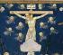 """Pietro Lorenzetti (1280-1348). """"La Crucifixion"""", détail. Fresque de la Passion du Christ, 1315-1319. Assise (Italie), basilique Saint-François. © Alinari/Roger-Viollet"""