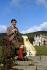 Le prince Charles (né en 1948), posant aux environs du château de Balmoral (Ecosse), 14 novembre 1978. © PA Archive/Roger-Viollet