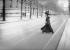 Mademoiselle Bloch, première candidate à l''Ecole polytechnique. Paris, 1900. © Albert Harlingue/Roger-Viollet