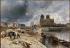 Johan-Barthold Jongkind (1819-1891). View of the Notre Dame de Paris Cathedral from the quai de la Tournelle in Paris. Oil on canvas, 1852. Musée des Beaux-Arts de la Ville de Paris, Petit Palais.   © Petit Palais/Roger-Viollet