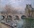Camille Pissarro (1830-1903). The pont Royal and the pavillon de Flore in Paris, 1903. Musée des Beaux-Arts de la Ville de Paris, Petit Palais. © Petit Palais/Roger-Viollet