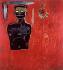 """Jean-Michel Basquiat (1960-1988). """"Sans titre"""". Acrylique et mélange sur toile, 1984. Collection privée. © TCDL / The Image Works / Roger-Viollet"""