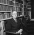 Jean Giraudoux (1882-1944), écrivain et diplomate français. France, novembre 1935. © Boris Lipnitzki / Roger-Viollet