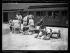 """""""Les drapeaux qui figureront au grand défilé de la Victoire arrivent à Paris"""", le 11 juillet 1919. Celui du 227ème d'infanterie, venant de Hongrie, arrive à la gare de Bercy. © Excelsior - L'Equipe / Roger-Viollet"""