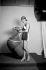 Dolly Davis (1896-1962), actrice française, épouse d'Albert Préjean.  © Boris Lipnitzki/Roger-Viollet