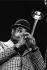 Dizzy Gillespie (1917-1993), trompettiste américain. Lyon (Rhône), 1979. © Gérard Amsellem/Roger-Viollet