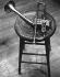 La trompette de Dizzy Gillespie (1917-1993), musicien, chanteur et chef d'orchestre de jazz américain, 1959. Photo : Herb Snitzer. © Herb Snitzer / TopFoto / Roger-Viollet