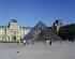 Paris. La Pyramide du Louvre. Architecte : Ieoh Ming Peï. Juin 2000.       © Roger-Viollet