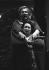 """""""Ariane à Naxos"""", opéra de Richard Strauss. Mise en scène de Jean-Louis Martinoty sous la direction musicale de Lothar Zagrosek. Montserrat Caballé (La prima donna / Ariane) et Peter Lindroos (Le ténor / Bacchus). Opéra de Paris, octobre 1986. © Colette Masson/Roger-Viollet"""