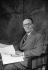 Jean Giraudoux (1882-1944), écrivain, auteur dramatique français.     © Studio Lipnitzki / Roger-Viollet