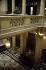 """Palais de justice. Escalier du Tribunal civil"""". Photographie d'André Bondil (1918-2009). Diapositive. Paris (Ier arr.)? 3 juin 1991. Paris, bibliothèque de l'Hôtel de Ville. © André Bondil / BHdV / Roger-Viollet"""