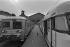 Transport strike : the SNCF, French national railway company. Paris, 1978. © Jacques Cuinières / Roger-Viollet