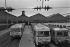 Transport strike : the SNCF, French railway company. Paris, 1978. © Jacques Cuinières / Roger-Viollet