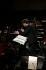 """Portrait de Jérémie Rhorer (né en 1973), chef d'orchestre français dans le """"dialogue des Carmélites"""" de Francis Poulenc. Paris, Théâtre des Champs-Elysées, 3 février 2018. © Colette Masson / Roger-Viollet"""