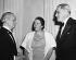 Pearl Buck (1892-1973), femme de lettres américaine, en compagnie d'autres nominés pour les Prix Nobel 1938. © Ullstein Bild / Roger-Viollet