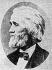 Christopher Latham Sholes (1819-1890), inventeur américain, notamment du clavier QWERTY et de la machine à écrire avec Frank Haven Hall, Samuel W. Soule, Carlos Glidden et John Pratt, XIXème siècle. © TopFoto / Roger-Viollet
