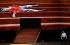 """""""Boris Godounov"""", opéra en trois actes de Modeste Petrovitch Moussorgski sous la direction musicale de  Vladimir Jurowski. Livret de Modeste Petrovitch Moussorgski. Mise en scène: Ivo Van Hove. Décors et lumières: Jan Versweyveld. Orchestre et choeur: Opéra National de Paris. Interprète: Alexander Tsymbalyuk (Boris Godounov). Nouvelle production. Photographie de Colette Masson (née en 1934). Opéra Bastille. Paris, le 1 juin 2018. © Colette Masson / Roger-Viollet"""