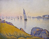 "Paul Signac (1863-1935). ""Concarneau. Calme du soir Opus 220 (allegro maestro)"". Huile sur toile, 1891. New York (Etats-Unis), Metropolitan Museum of Art. © TopFoto / Roger-Viollet"