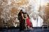 """""""Bérénice'"""" d'après Racine. Création mondiale composée par Michael Jarrell sous la direction musicale de Philippe Jordan. Mise en scène: Claus Guth. Lumières Fabrice Kebour. Costumes: Christian Schmidt et Linda Redlin. Décors: Christian Schmidt. Interprètes: Barbara Hannigan (Bérénice), Julien Behr (Arsace), Rina Schenfeld (Phénice). Photographie de Colette Masson (née en 1934). Paris, Palais Garnier, le 24 septembre 2018. © Colette Masson / Roger-Viollet"""